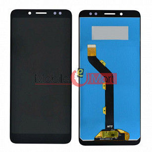 Lcd Display With Touch Screen Digitizer Panel Combo Folder Glass For Itel A62 (Black)