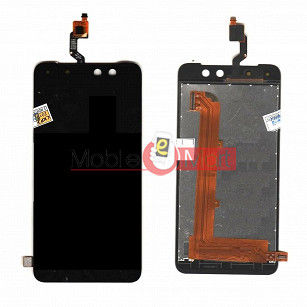 Lcd Display With Touch Screen Digitizer Panel Combo Folder Glass For Itel S21 (Black)