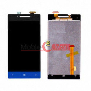 Lcd Display With Touch Screen Digitizer Panel Combo Folder Glass For HTC 8S (Black)