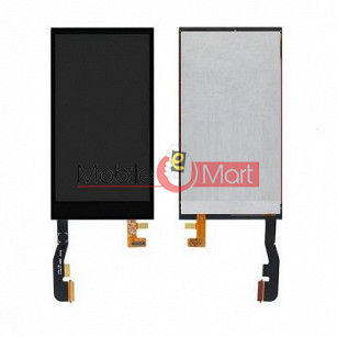 Lcd Display With Touch Screen Digitizer Panel Combo Folder Glass For HTC One (M8) (Black)