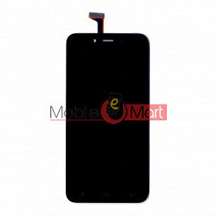 Lcd Display With Touch Screen Digitizer Panel Combo Folder Glass For Oppo A71 (Black)