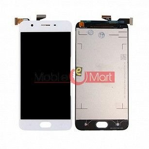 Lcd Display With Touch Screen Digitizer Panel Combo Folder Glass For Oppo A57 (Black)