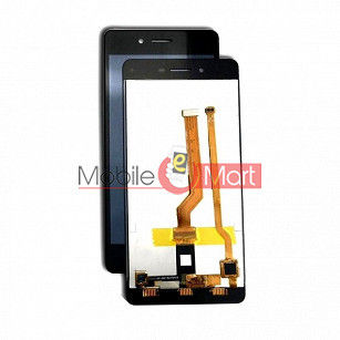 Lcd Display With Touch Screen Digitizer Panel Combo Folder Glass For Oppo F1 (Black)