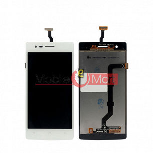 Lcd Display With Touch Screen Digitizer Panel Combo Folder Glass For OPPO Neo R831 (Black)