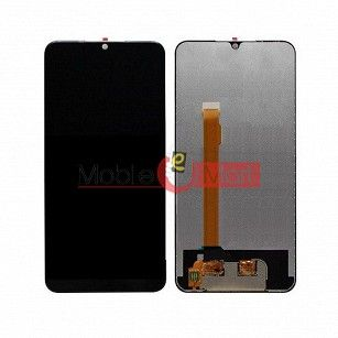 Lcd Display With Touch Screen Digitizer Panel Combo Folder Glass For Oppo Realme 2 Pro (Black)
