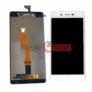 Lcd Display With Touch Screen Digitizer Panel Combo Folder Glass For Oppo A51 (Black)
