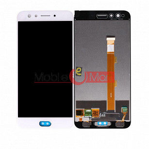Lcd Display With Touch Screen Digitizer Panel Combo Folder Glass For Oppo F3 Plus (Black)