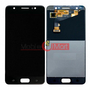 Lcd Display With Touch Screen Digitizer Panel Combo Folder Glass For Tecno i3 (Black)