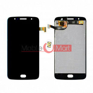 Lcd Display With Touch Screen Digitizer Panel Combo Folder Glass For Motorola Moto G5S (Black)