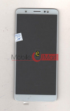 Lcd Display With Touch Screen Digitizer Panel Combo Folder Glass For TECNO IN2 (Black)