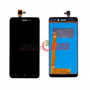 Lcd Display With Touch Screen Digitizer Panel Combo Folder Glass For Lenovo S60 (black)