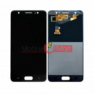 Lcd Display With Touch Screen Digitizer Panel Combo Folder Glass For Tecno I5 (Black)