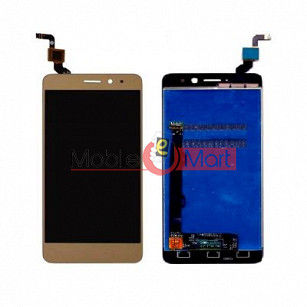 Lcd Display With Touch Screen Digitizer Panel Combo Folder Glass For Lenovo K6 Power (Black)