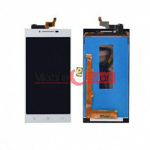 Lcd Display With Touch Screen Digitizer Panel Combo Folder Glass For  Lenovo P70 (Black)