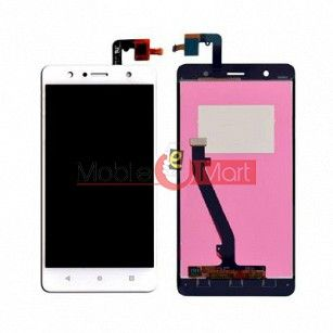 Lcd Display With Touch Screen Digitizer Panel Combo Folder Glass For Lenovo K8 (black)