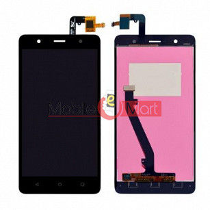 Lcd Display With Touch Screen Digitizer Panel Combo Folder Glass For Lenovo K8 Plus (Black)