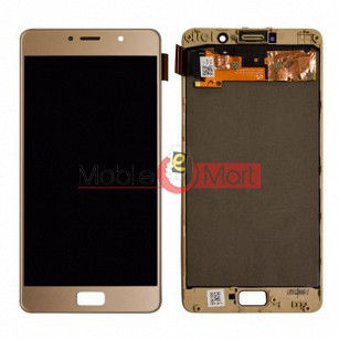 Lcd Display With Touch Screen Digitizer Panel Combo Folder Glass For Lenovo P2 (Black)