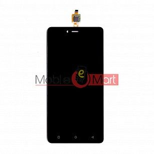 Lcd Display With Touch Screen Digitizer Panel Combo Folder Glass For Gionee F103 (Black)