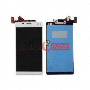 Lcd Display With Touch Screen Digitizer Panel Combo Folder Glass For Sony Xperia C4 (Black)