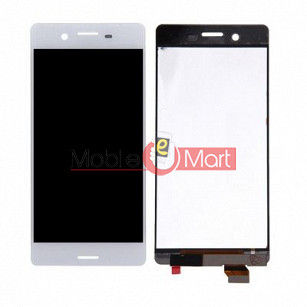 Lcd Display With Touch Screen Digitizer Panel Combo Folder Glass For Sony Xperia X (Black)