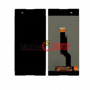 Lcd Display With Touch Screen Digitizer Panel Combo Folder Glass For  Sony Xperia XA1 (Black)