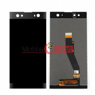 Lcd Display With Touch Screen Digitizer Panel Combo Folder Glass For Sony Xperia Xa2 (Black)