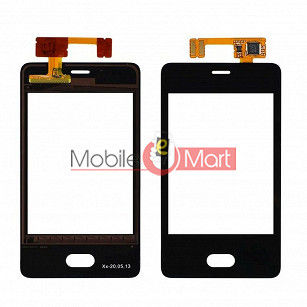 Touch Screen Digitizer For Nokia Asha 501(Black)