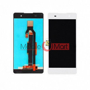Lcd Display With Touch Screen Digitizer Panel Combo Folder Glass For Sony Xperia E5 (Black)