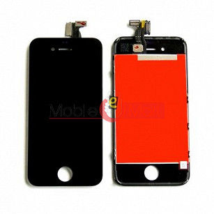 Lcd Display With Touch Screen Digitizer Panel Combo Folder Glass For Apple Iphone 4g (Black)