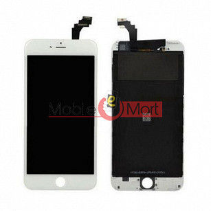 Lcd Display With Touch Screen Digitizer Panel Combo Folder Glass For Apple iPhone 6 Plus (Black)