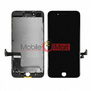 Lcd Display With Touch Screen Digitizer Panel Combo Folder Glass For Apple iPhone 7 Plus (Black)