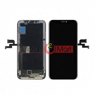 Lcd Display With Touch Screen Digitizer Panel Combo Folder Glass For Apple iPhone X (Black)