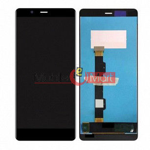 Lcd Display With Touch Screen Digitizer Panel Combo Folder Glass For Nokia 5.1 (Black)