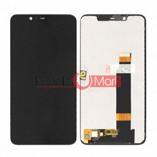 Lcd Display With Touch Screen Digitizer Panel Combo Folder Glass For Nokia 5.1 plus (Black)