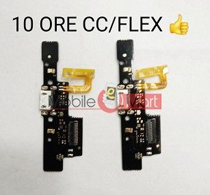 Charging Connector Port Flex Cable For Tenor 10.or E