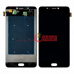 Lcd Display With Touch Screen Digitizer Panel Combo Folder Glass For Gionee A1 (Black)