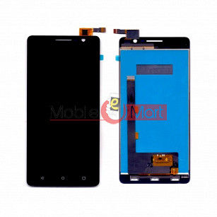 Lcd Display With Touch Screen Digitizer Panel Combo Folder Glass For Lyf Wind 4S (Black)