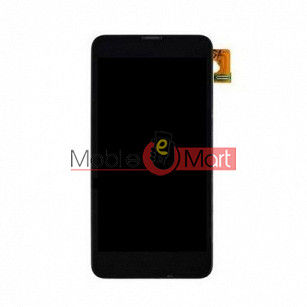 Lcd Display With Touch Screen Digitizer Panel Combo Folder Glass For Nokia Lumia 630 (Black)