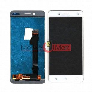Lcd Display With Touch Screen Digitizer Panel Combo Folder Glass For InFocus M680 (Black)