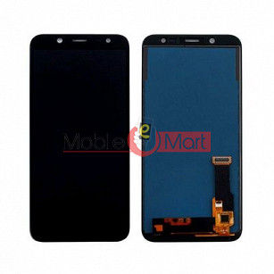 Lcd Display With Touch Screen Digitizer Panel Combo Folder Glass For Samsung Galaxy J8 2018 (Black)
