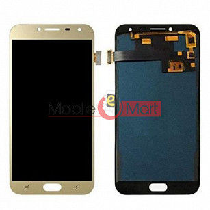 Lcd Display With Touch Screen Digitizer Panel Combo Folder Glass For Samsung Galaxy J4 (Black)