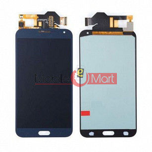 Lcd Display With Touch Screen Digitizer Panel Combo Folder Glass For Samsung Galaxy E7  (Black)