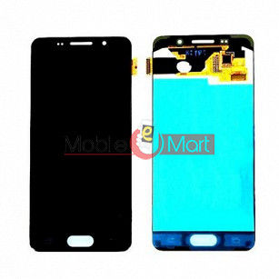 Lcd Display With Touch Screen Digitizer Panel Combo Folder Glass For Samsung Galaxy A3 (Black)