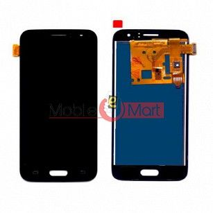 Lcd Display With Touch Screen Digitizer Panel Combo Folder Glass For Samsung Galaxy J1 (2016) (black)