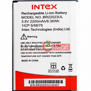Ajah Mobile Battery For Intex Aqua Lions T1 Lite