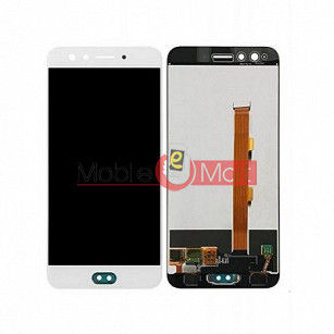 Lcd Display With Touch Screen Digitizer Panel Combo Folder Glass For OPPO F3  (black)