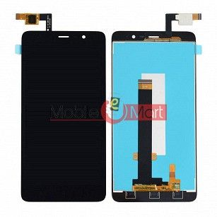 Lcd Display With Touch Screen Digitizer Panel Combo Folder Glass For Xiaomi Redmi 3 (White)