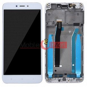 Lcd Display With Touch Screen Digitizer Panel Combo Folder Glass For Xiaomi Redmi 4 (White)