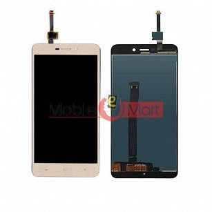Lcd Display With Touch Screen Digitizer Panel Combo Folder Glass For Xiaomi Redmi 4A (White)
