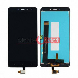 Lcd Display With Touch Screen Digitizer Panel Combo Folder Glass For Xiaomi Redmi Note 4 (White)